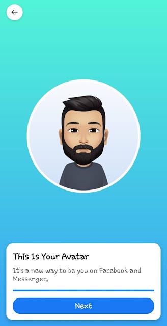Facebook avatar ready