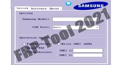 Samsung Reset FRP Tool 2021