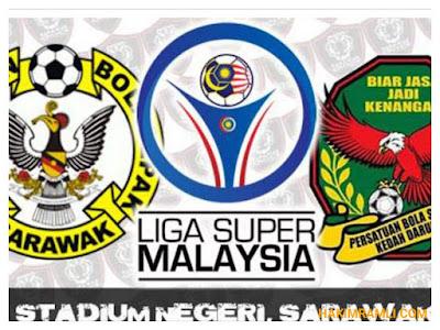 Live Streaming Sarawak vs Kedah Liga Super 27 September 2017