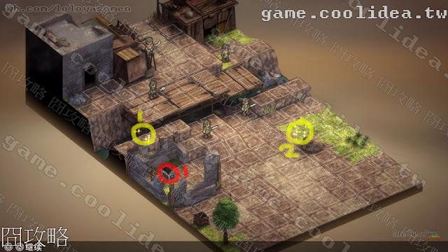 Mercenaries Blaze 傭兵烈焰 黎明雙龍 第01章雙龍傭兵團 / 双竜傭兵隊 戰場地圖