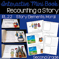 https://www.teacherspayteachers.com/Product/Recounting-a-Story-Interactive-Mini-Book-RL22-3350680