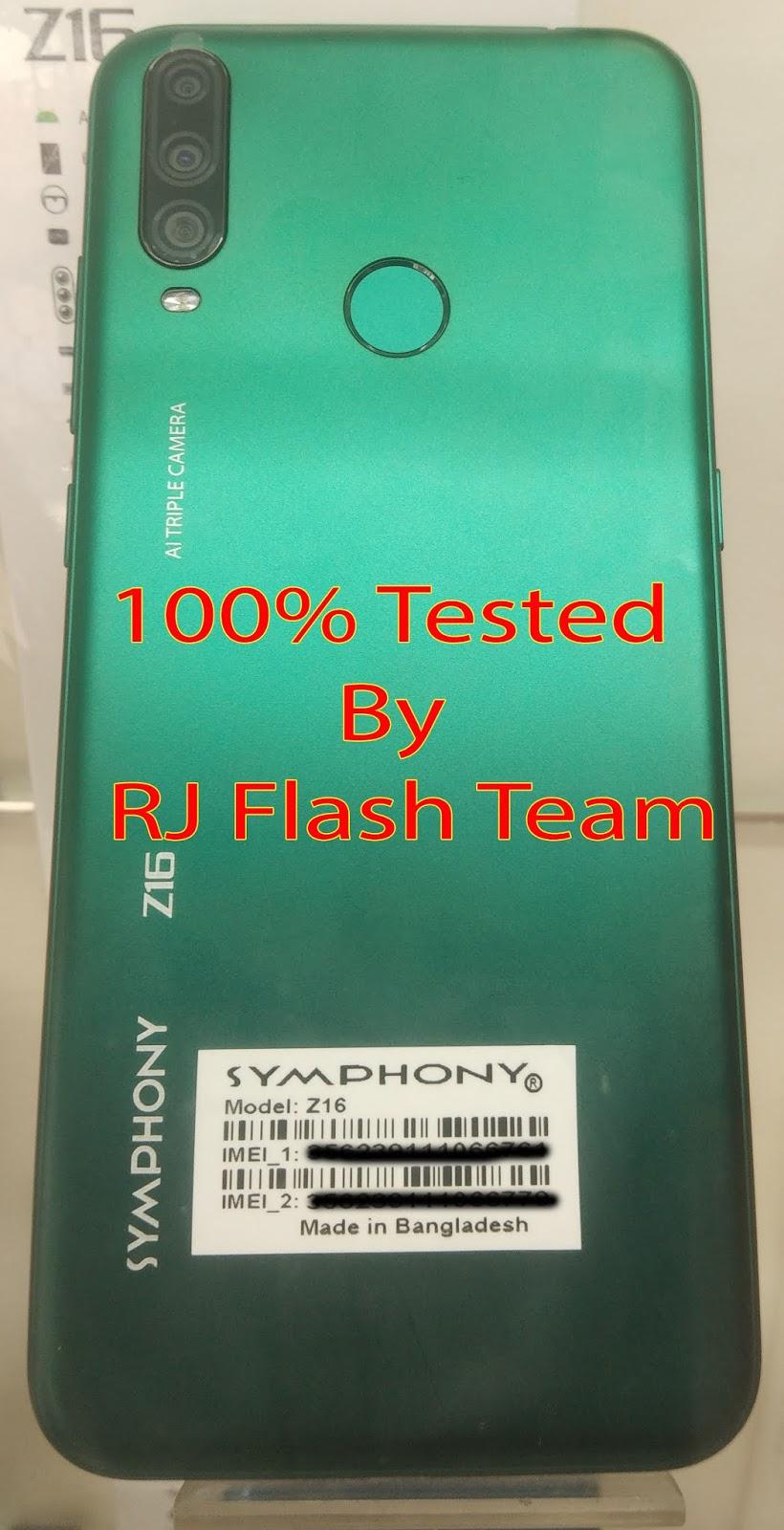 SYMPHONY Z16 Flash File