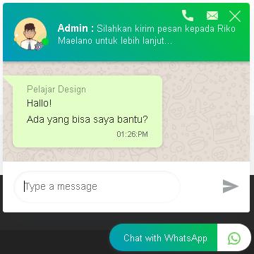 Hasil Akhir Dari Chat Whatsapp