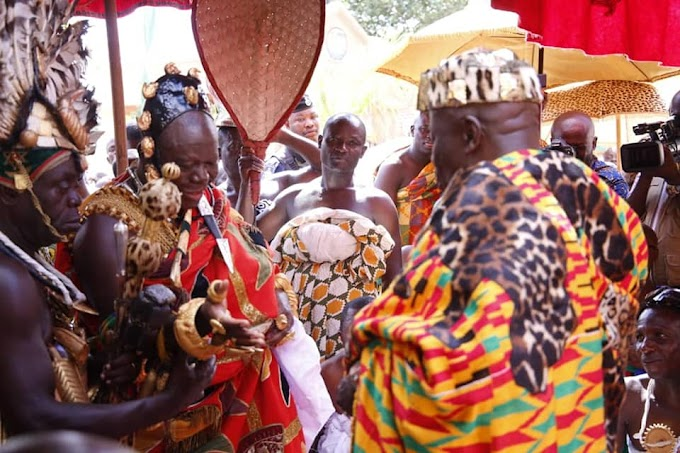Asantehene Proposes Constitutional Reforms to Give Chiefs Bigger Say in Ghanaian Politics