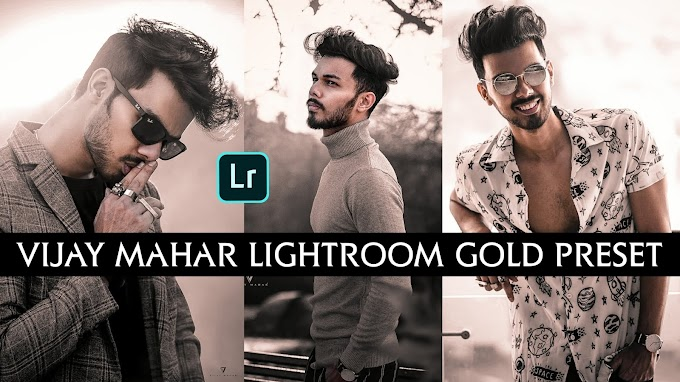Vijay Mahar Lightroom Mobile Gold Tone Preset Download