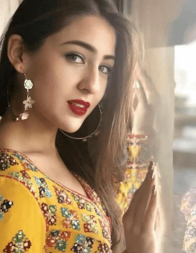 Sara Ali Khan Daughter of Saif Ali Khan and Amrita Singh