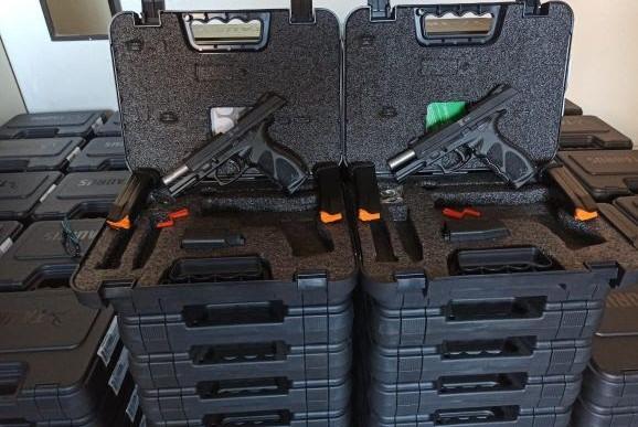 Sergipe adquire 260 pistolas Taurus TH40
