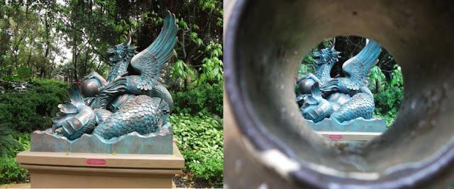 Dragon at Mystic Manor Hong Kong Disneyland