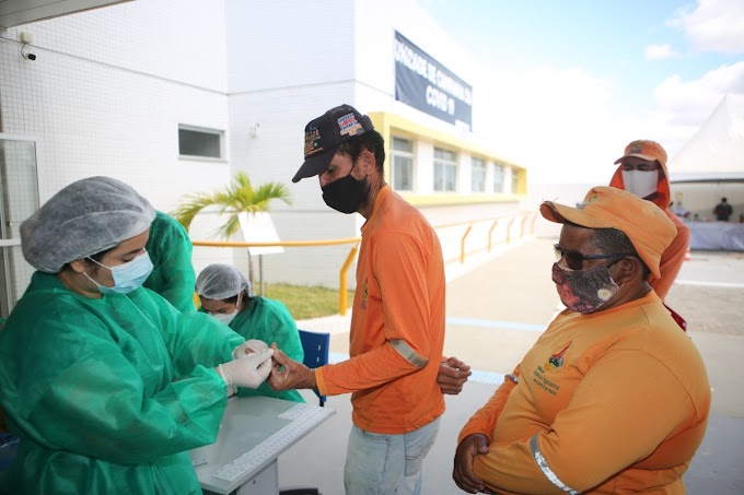 Prefeitura de Afogados entregou novos fardamentos e testou para covid, garis e margaridas
