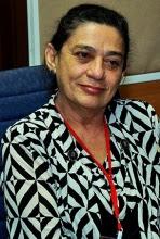 Presidenta del Consejo Mundial por la Paz Maria Do Socorro Gomes