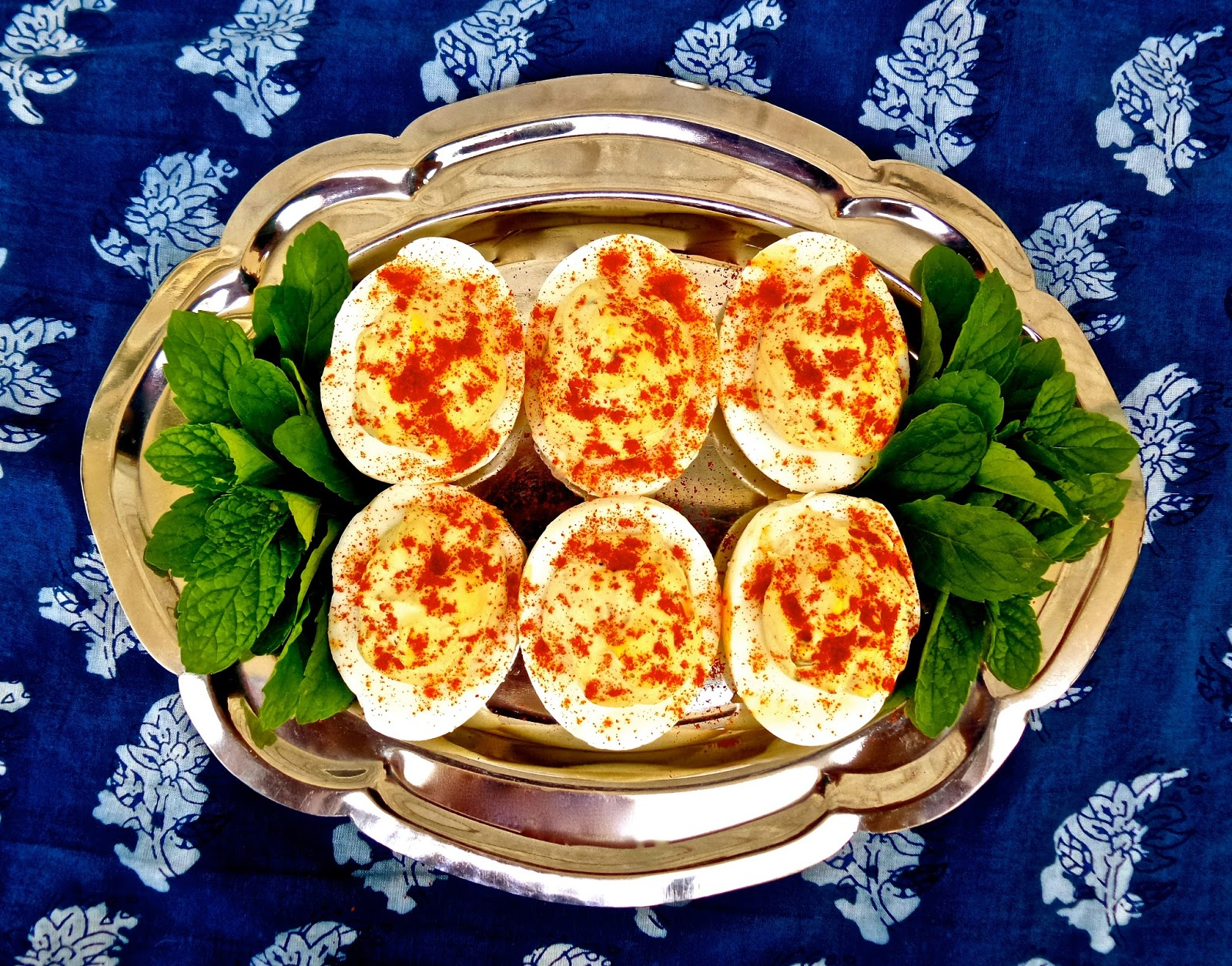Garam Masala Deviled Eggs, garam masala, eggs, easter, recipe, easy, indian, deviled, spicy, worcestershire, hard boiled, hard cooked, vegetarian,