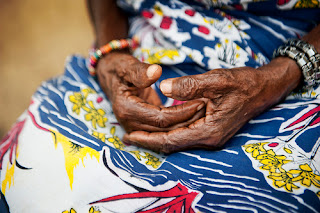 Hands tell the story of Africa