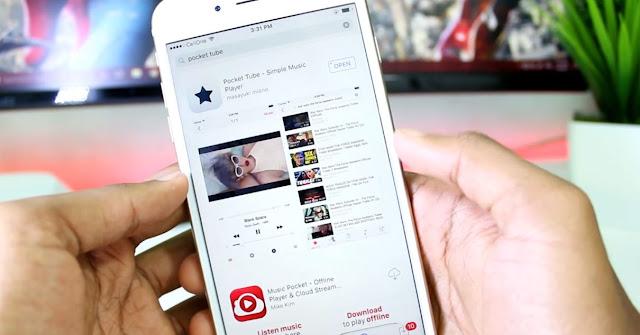 iPhone Müzik İndirme Programı: Pocket Tube