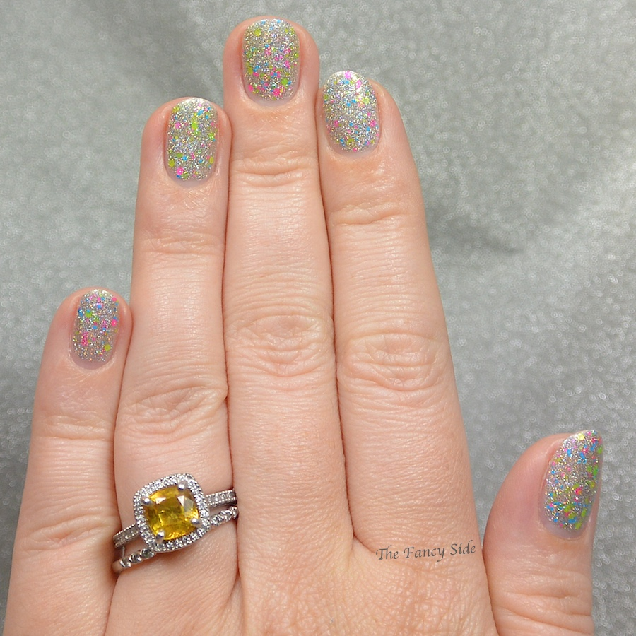 The Fancy Side Matchingmani With Shelby Lou Nails Feat