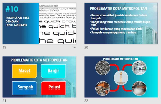 Dasar dalam Membuat Presentasi PowerPoint yang Baik