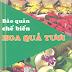 Bảo quản chế biến hoa quả tươi - KS. Nguyễn Thị Minh Phương