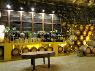 Pipas de vinho em Quinta
