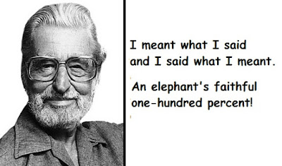 """Dr. Seuss Quotes About Elphant"""