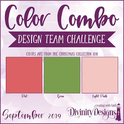 Divinity Designs LLC Design Team Color Challenge September 2019