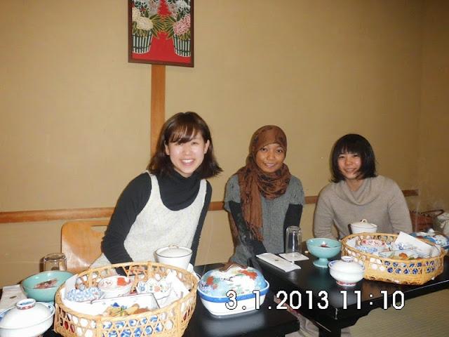 Makanan di ryuokan (onsen)