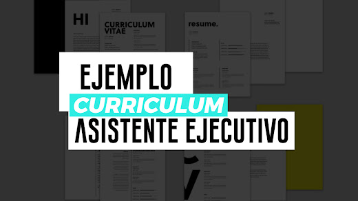 Ejemplo de CV de asistente ejecutivo