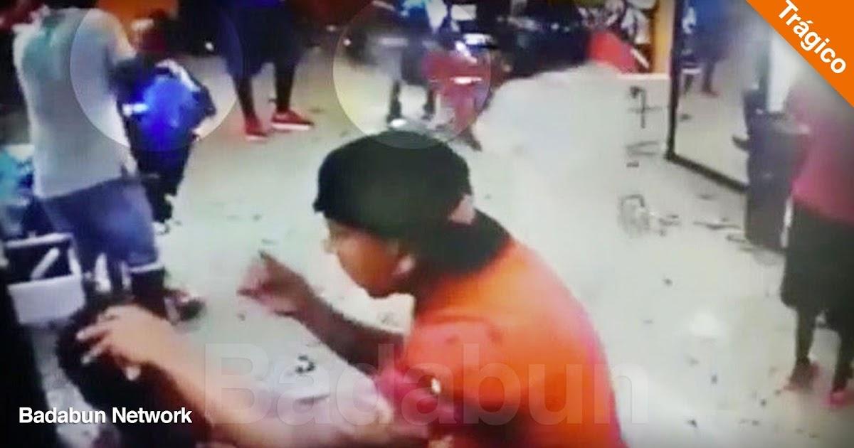 asesinato peluquería México video