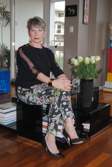 floral prints pants