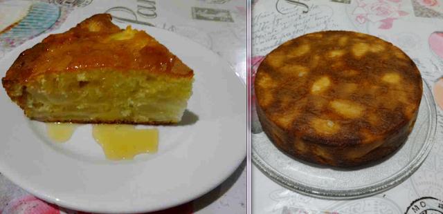 pâtisserie dessert gâteau au yaourt et aux poires