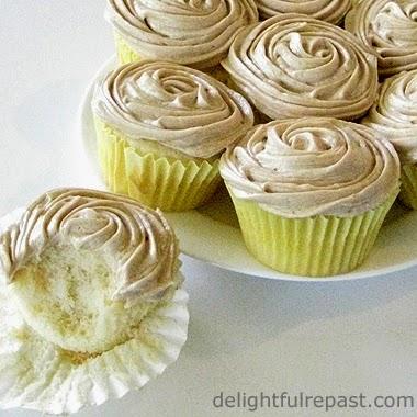 Caramel Flour Frosting / www.delightfulrepast.com