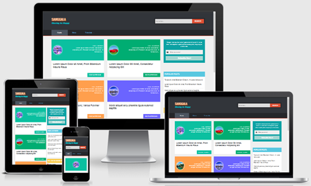 Download Sanggala Responsive Blogger Template