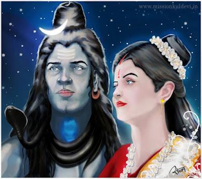 मैं शिव की शक्ति शिवा हूँ