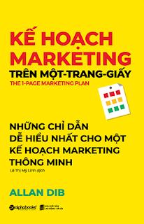 Kế Hoạch Marketing Trên Một Trang Giấy Ebook PDF  Epub  MOBI  AWZ3