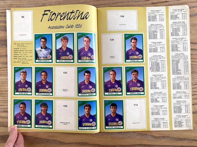 figurine 87/88 calciatori panini
