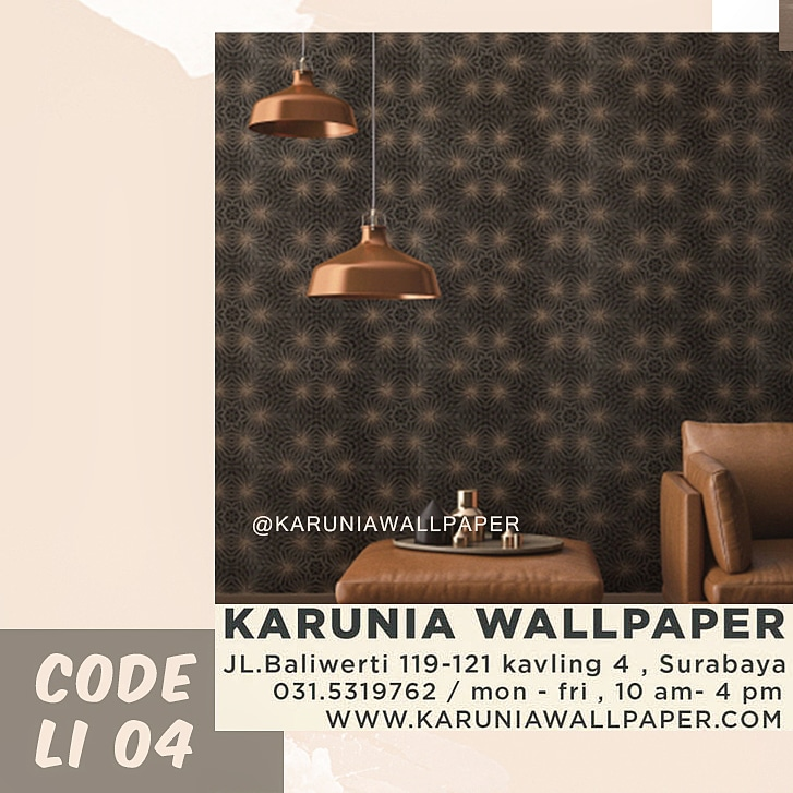 jual wallpaper dinding interior ornamen