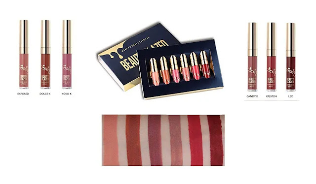 Beauty Glazed 6 PCS Matte Liquid Lipstick
