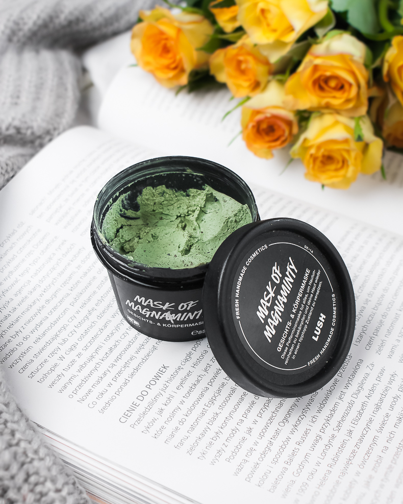 Lush mask of magna minty blog opinie
