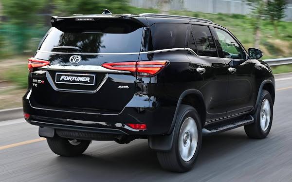 Toyota Hilux SW4 2021 chega este mês com aperfeiçoamentos