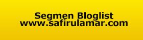 Segmen Bloglist dan Banner Header Safirul Amar.Com