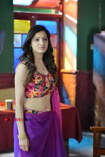 Actress Richa Panai Stills in Half Saree at Rakshaka Bhatudu Sets  0007.JPG