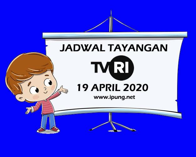 Jadwal TVRI Belajar dari Rumah, Minggu 19 April 2020