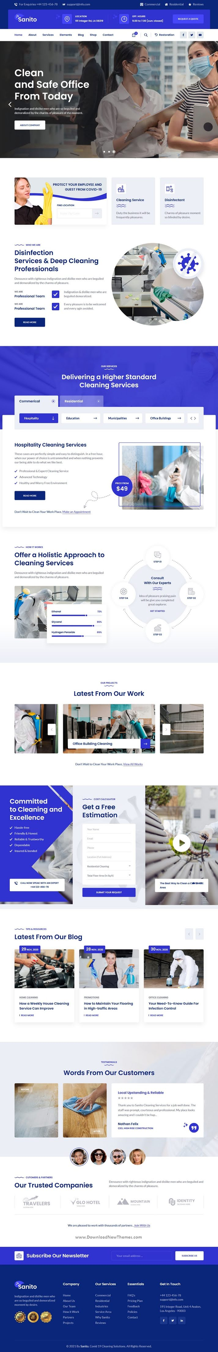 Sanitizing and Cleaning HTML Template