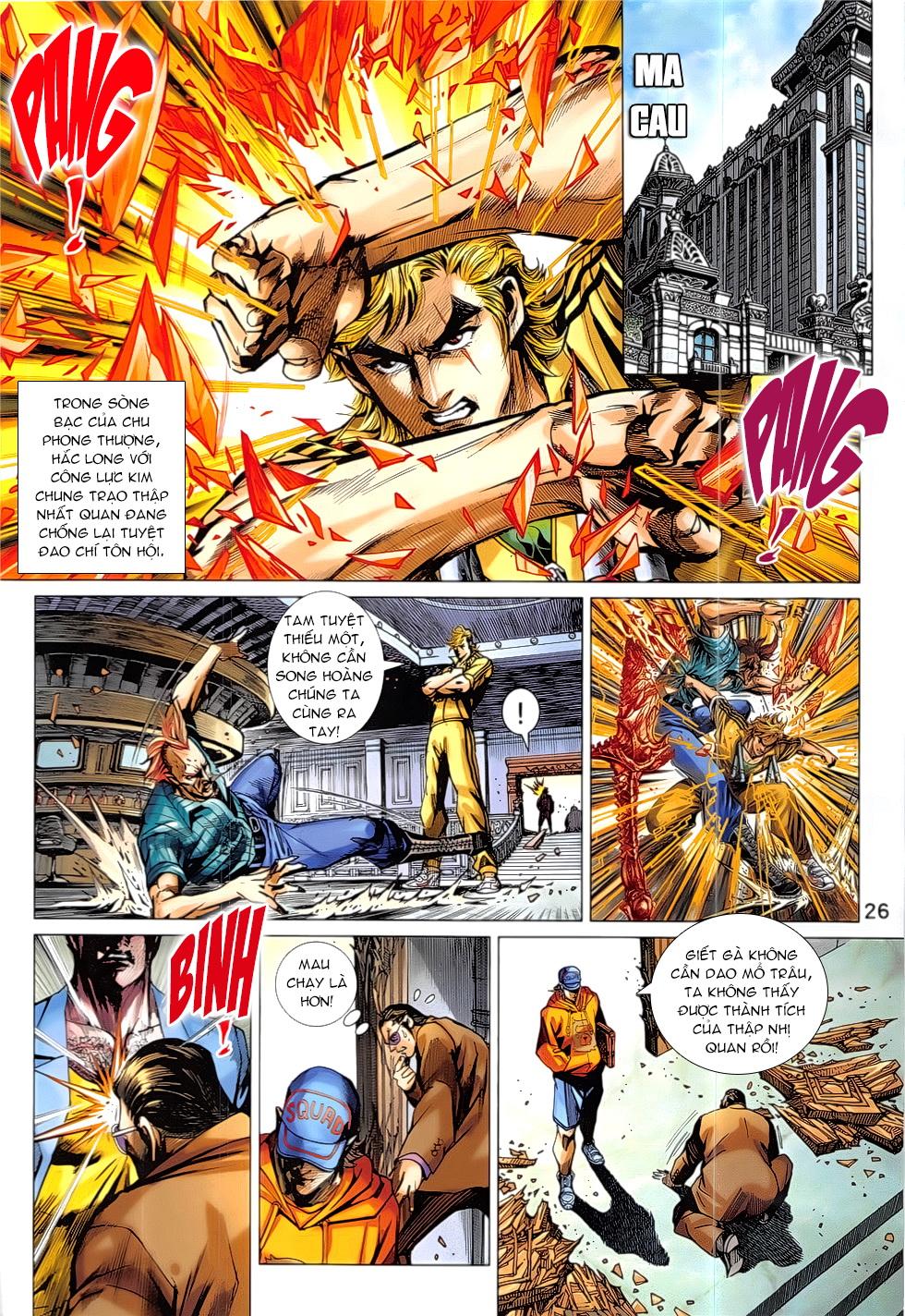 Tân Tác Long Hổ Môn Chap 837 page 26 - Truyentranhaz.net