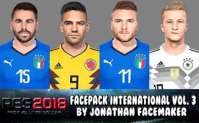 Facepack International Vol. 3 PES 2018