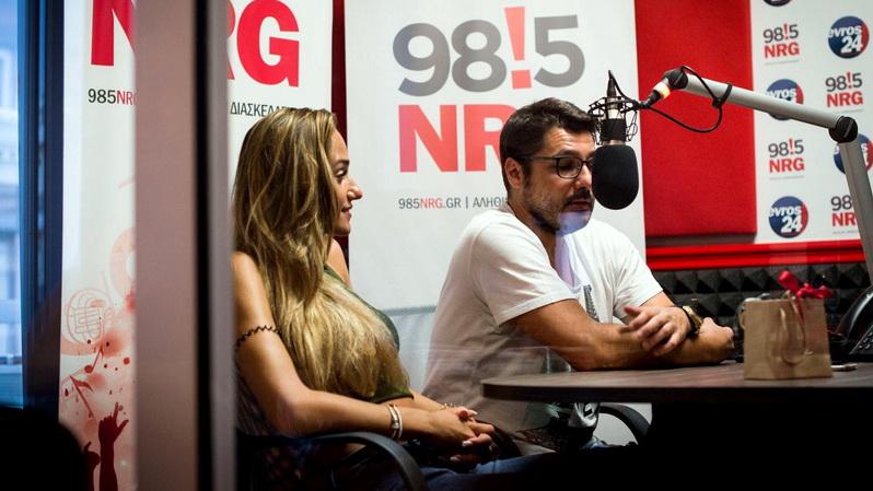 Ο Λάμπρος Κωνσταντάρας και η Έλενα Κώνστα επιστρέφουν στον NRG 98.5