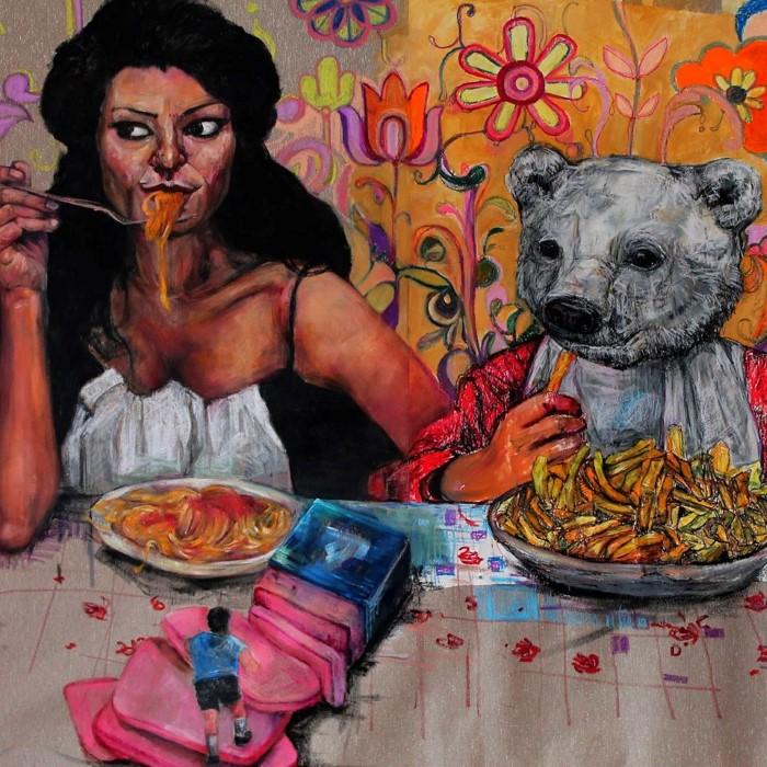 Греческий художник. Dimitra Bouritsa