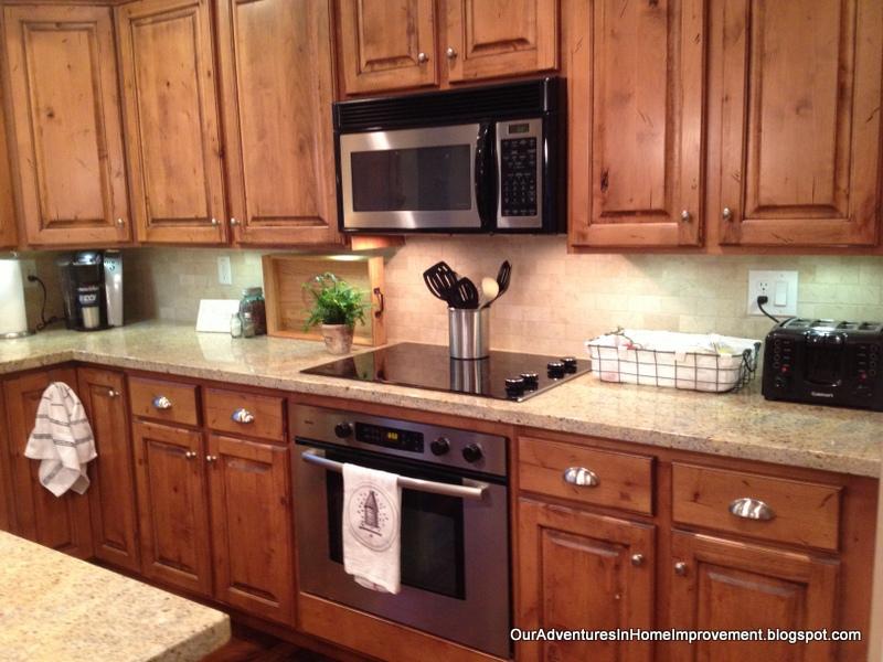Our Adventures in Home Improvement Kitchen Backsplash Update