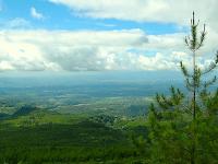 Nama Tempat Wisata Gunung Galunggung Tasikmalaya Jawa Barat Indonesia