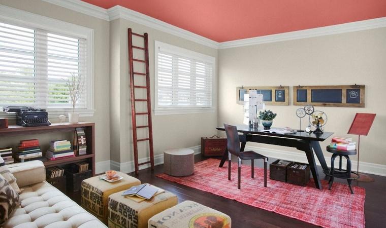 sala  cor rosa