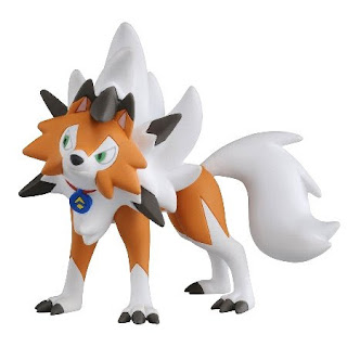 Lycanroc figure Dusl form Ultra Guardians version Takara Tomy MONCOLLE EX ESP_05