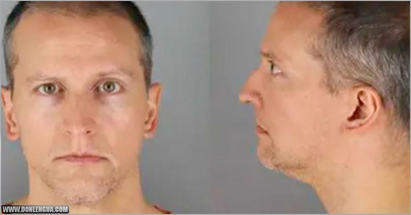 Policía racista Derek Chauvin fue trasladado a una cárcel de máxima seguridad